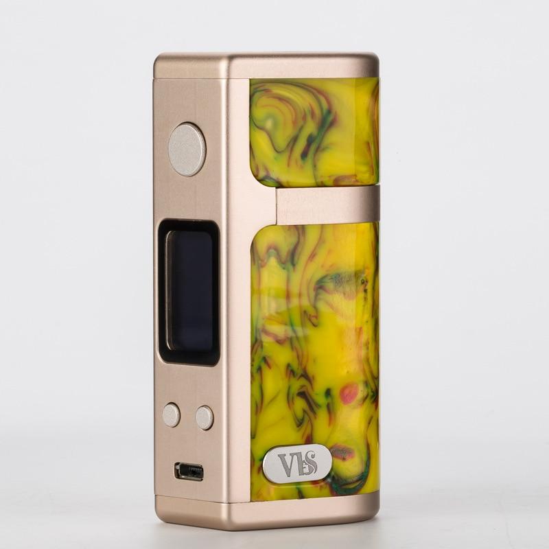 VBS 75w Resin box mod mexmod evaporator OLED display screen 24hours temperture control e cig electronic cigarette vape mod цены онлайн