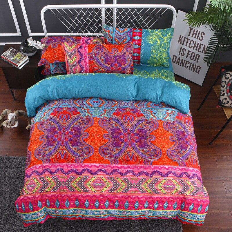 fanaijia 3d duvet cover set with pillowcase bohemian bedding sets king size boho printed mandala. Black Bedroom Furniture Sets. Home Design Ideas