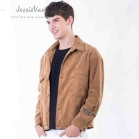 JESSIE VAN 2018 Bomber Mens Jackets And Coats Hot Sale Solid Casual Jaqueta Masculina Brand Clothing