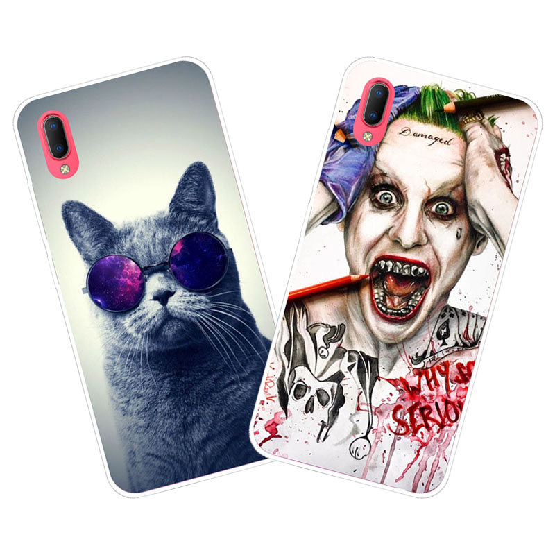 Vivo Y93S Y93 Case,Silicon Super cool cartoon Painting Soft TPU Back Cover for Vivo Y93S Y93 Phone protect cases shell