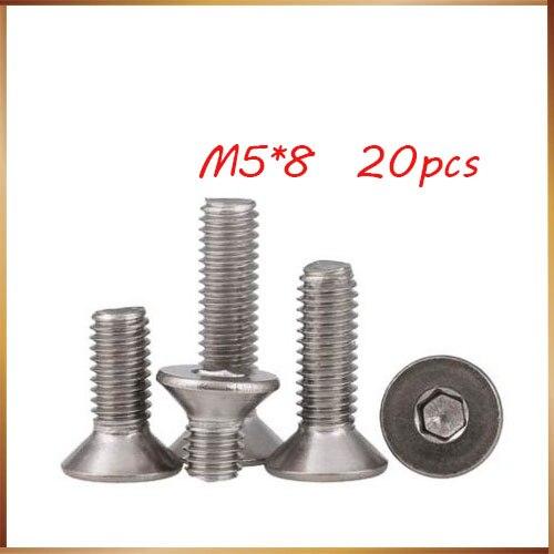 10 Vite Testa cilindrica M3x40 Screw socket head cap