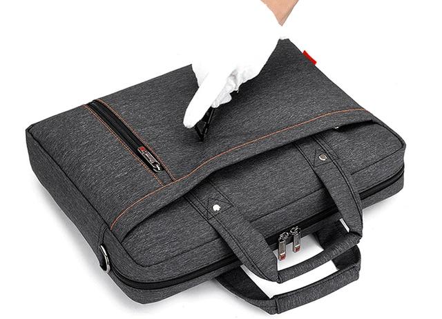 Burnur 12 13 14 15 15.6 17 17.3 Inch Waterproof Computer Laptop Notebook Tablet Bag 1
