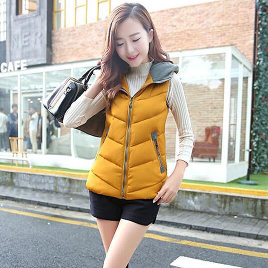Cheap wholesale 2017 new Autumn Winter Hot sale women's fashion casual YX1080 Vest outerwear