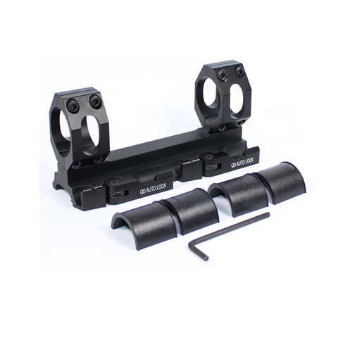 ferroviario picatinny cantilever weaver riflescope montagem de liberacao rapida