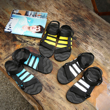 Man Beach Sandals 2019 Summer Gladiator Men's Outdoor Shoes Roman Men Casual Shoe Flip Flops Fashion Slippers Flat Plus Size 46 стоимость