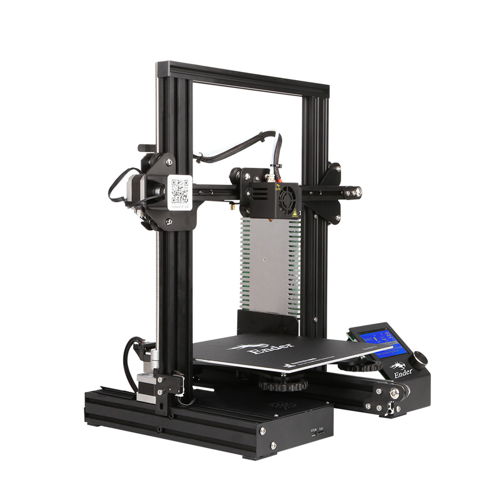 Image 3 - Creality 3D Ender 3 3D Printer High precision DIY Kit Self assemble with Resume Printing Function Add 1KG Filament Optional-in 3D Printers from Computer & Office