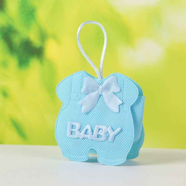 Lovely Baby Dress Design Baby Shower Favor Bags Fashion Color Bags