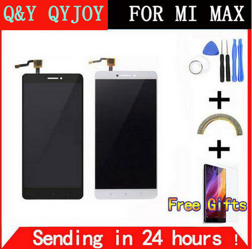 Q&Y QYJOY  For LCD Screen for Xiaomi Mi Max Replacement Accessories LCD Display+Touch Screen for Xiaomi Mi Max Pro Prime