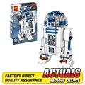 NUEVA Lele 35009 Genuino Serie Star El R2-D2 Robot Figura de impresión Bloques de Construcción Ladrillos Juguetes 10225