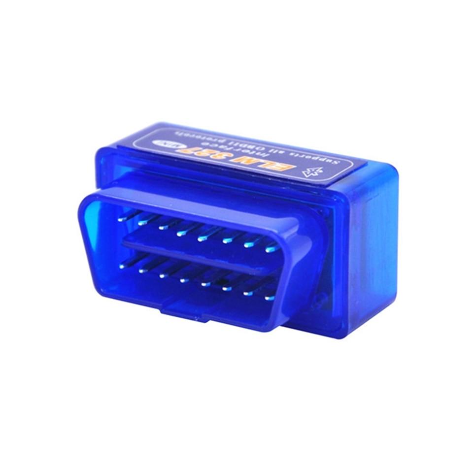 Prix pour 5 pcs Super MINI V1.5 Bluetooth ELM327 OBD2 Lecteur de Code De Diagnostic Scanner ELM 327 1.5 Matériel 25K80 Puce Multi-langue