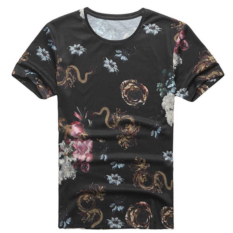 3D черная футболка с дырками и цифровым принтом для мужчин и женщин 2019 Летняя Повседневная рубашка с коротким рукавом Повседневная футболка с круглым вырезом Топы T3010