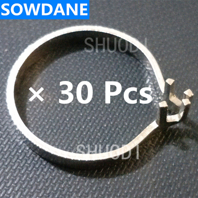 30 Pcs of Metal Ring Holder for Placing Dental Sectional Contoured Matrices Matrix Ring Delta Wedges30 Pcs of Metal Ring Holder for Placing Dental Sectional Contoured Matrices Matrix Ring Delta Wedges