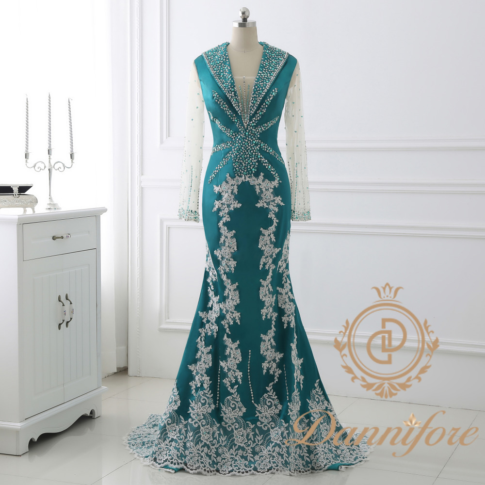 Dannifore 2017 New Arrival Long Formal Evening Dress for Women ...