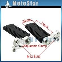 Подножки упор для ног колышки для 2-х тактный 47cc 49cc Мини Мото карманный велосипед