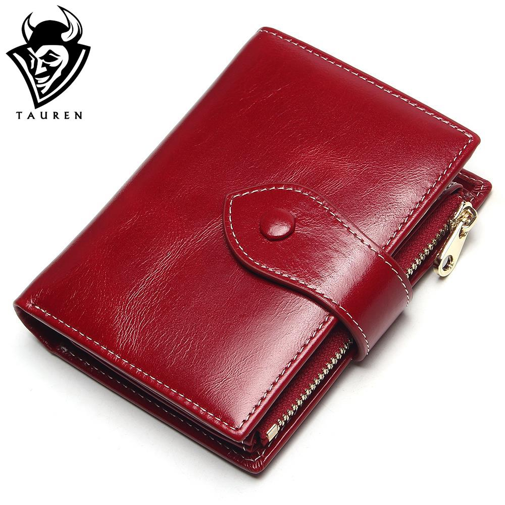 100% Genuine Leather Women Short Wallet Female Small Walet Fashion Lady Mini Zipper Money Bag Vallet Coin Purse Card Holder цена
