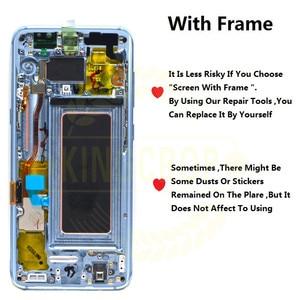 Image 3 - Pour Samsung S8 LCD avec remplacement de cadre pour SAMSUNG Galaxy S8 Plus LCD G955 S8 G950 G950F affichage lcd écran tactile numériseur