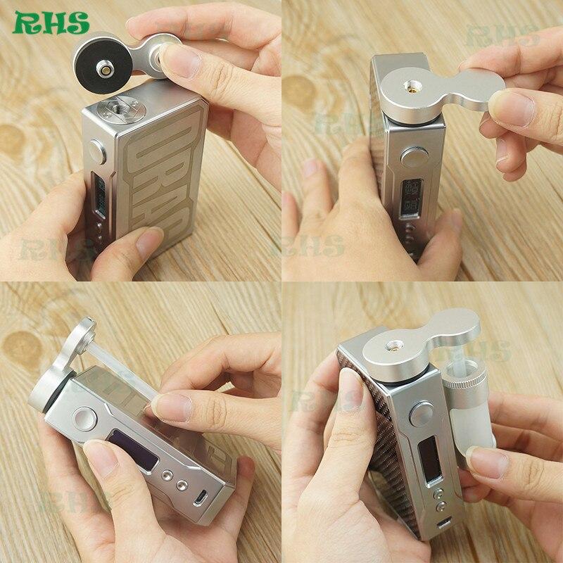 1 pz RHS CASA Alimentatore 7 ML Bottiglia Eliquid Aggiungere E-Succo Liquido Mod Vape Accessorio Per Sigaretta Elettronica atomizzatore Molle Del Silicone
