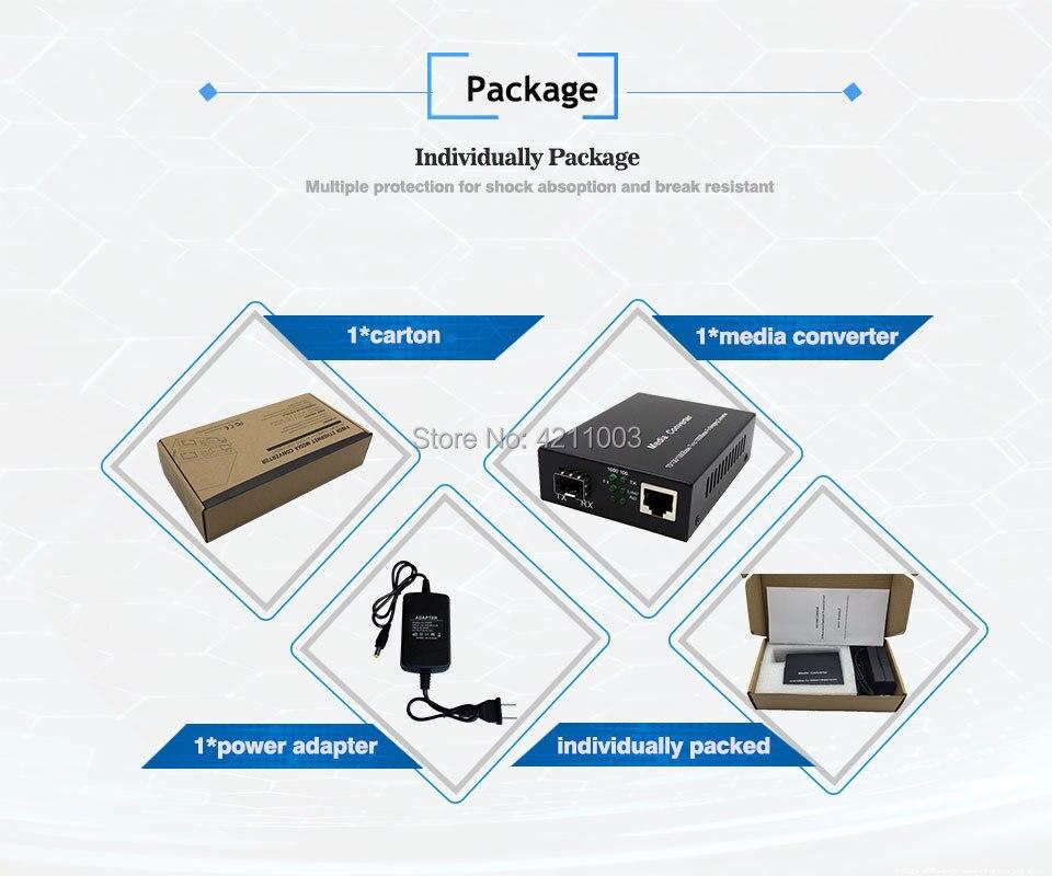 rj45 port 1000base Media Converter  (11)
