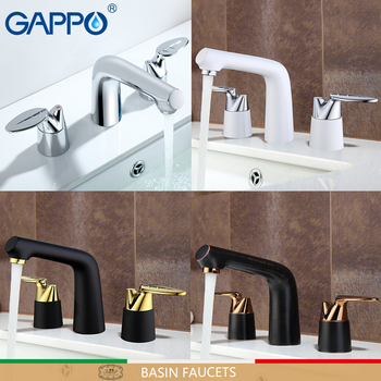 GAPPO Basin faucets water mixer tap bathroom sink faucet single hole brass faucet waterfall deck mounted taps
