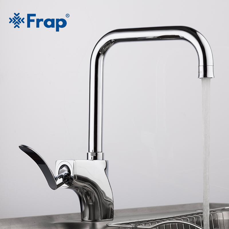 Kitchen Sink Outlet: Frap Kitchen Sink Faucet Cold And Hot Water Mixer Tap 360
