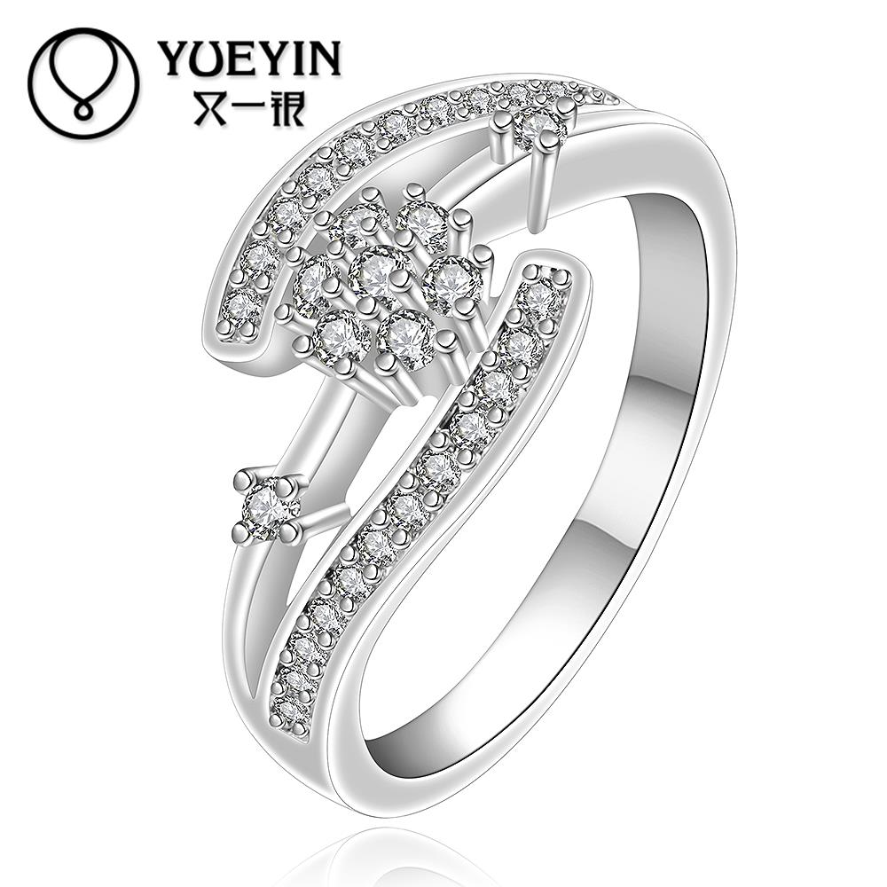 2015 New design finger ring for lady Top Quality silver ring ...