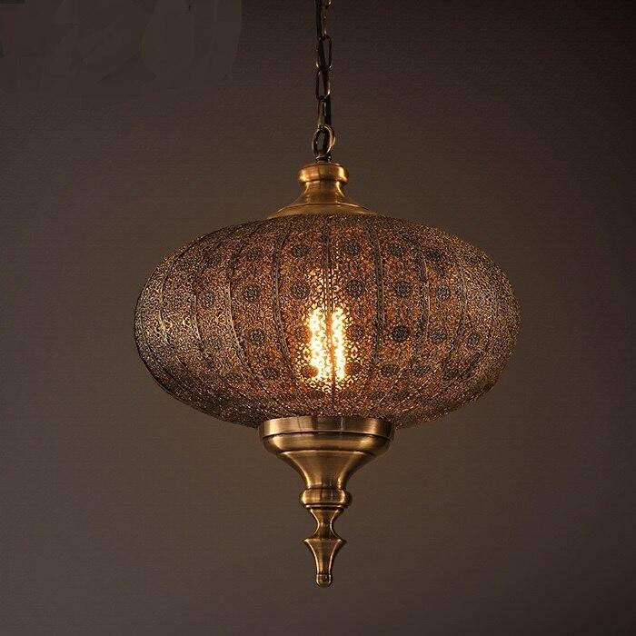 Us 219 0 Vintage American Chandelier Oriental Exotic Lamps Southeast Asia Retro Lantern Bar Cafe Decoration Light Wl3221105 In Chandeliers