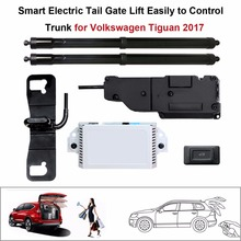 Smart Auto Electric Tail Gate Lift for Volkswagen Tiguan 2017 Control Set Height Avoid Pinch smart auto electric tail gate lift for hyundai ix35 control by remote drive seat tail gate button set height avoid pinch