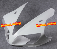 Upper Front Cover Fairing Cowl Nose Fits for Yamaha 2002 2003 YZF R1 ABS Plastic