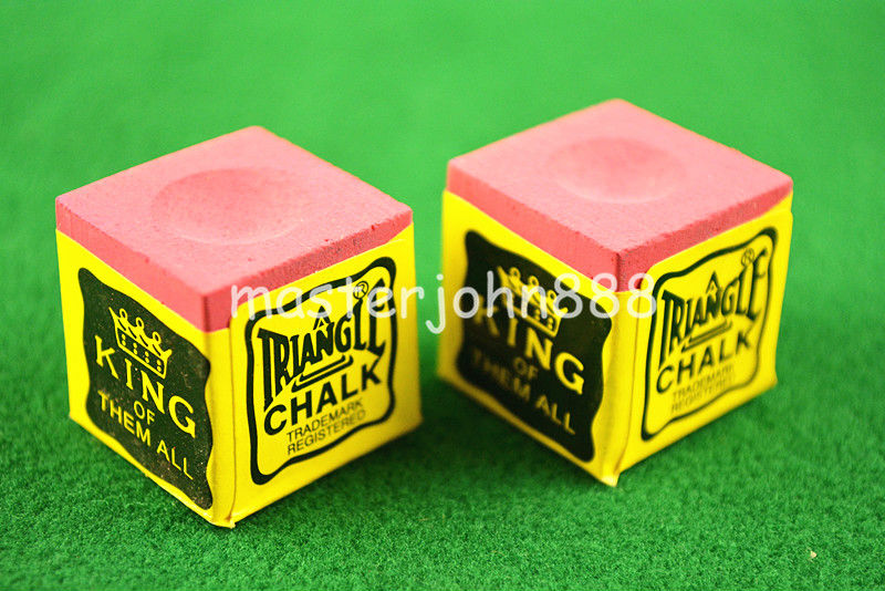 Sports & Entertainment ... Entertainment ... 32615244040 ... 3 ... 2pcs OF TRIANGLE MASTER Pool Billiards Snooker Chalk Cubes Chalk Green/Blue/Red Free Shipping ...