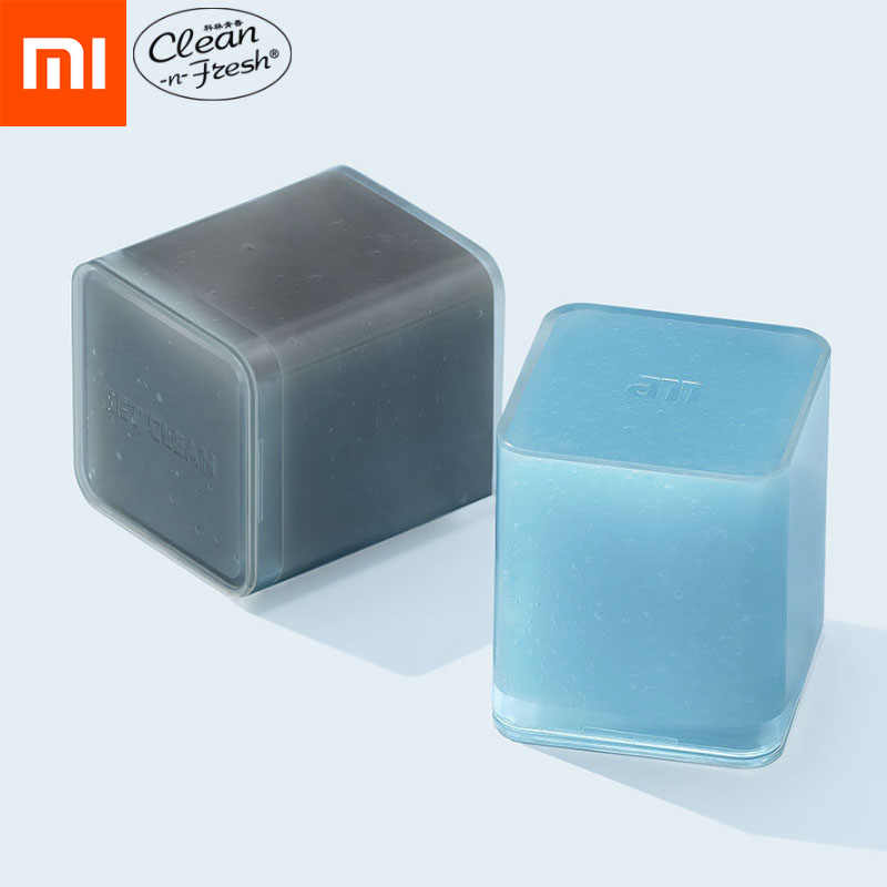 Xiaomi Mijia CNF Car Cleaner Glue Panel Air Vent Outlet Dashboard Laptop Home Magic Mud Remover Car Dust Antibacterial Soft Gel
