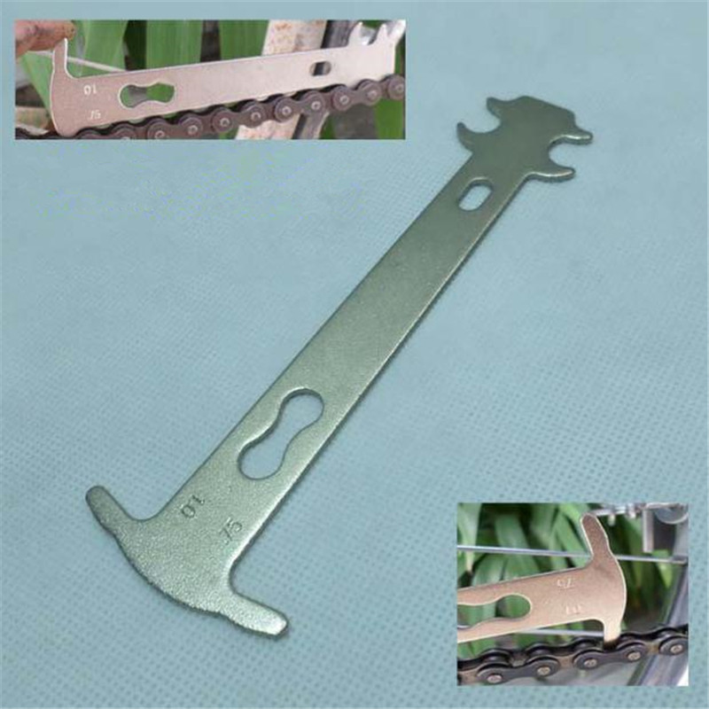 Bicycle Chain Wear Indicator Checker Mountain Road Bike MTB Chains Gauge Measurement Ruler Cycling Replacement Repair Tool Hot