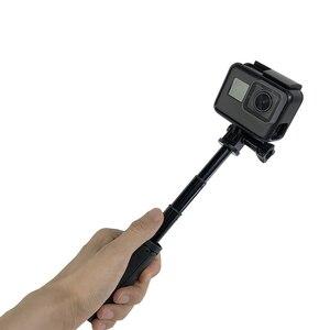 Image 2 - Mini tripé de mão para selfie, bastão monopé extensível para gopro hero 8 7 6 5 4 sjcam xiaomi, novo, 2019 yi 4k go pro câmera esportiva