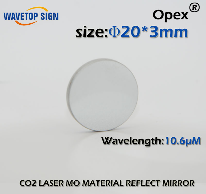 co2 mo reflect mirror diameter 20mm thickness 3mm mo material