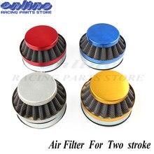 Multiple Color Air Clearner Filter 58mm For 47cc 49cc 2 Stroke Engine Carburetor Carb Mini Moto Kids Quad ATV Dirt Pocket Bike