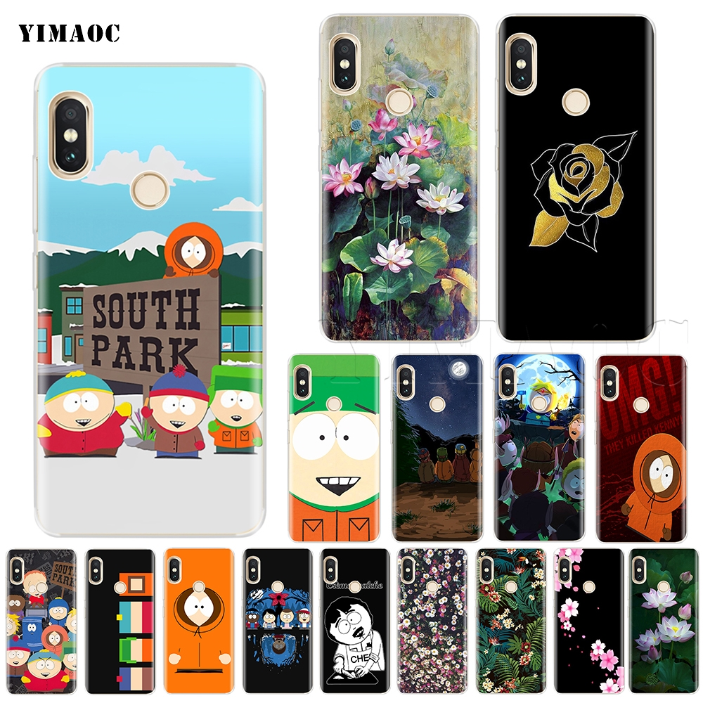YIMAOC South Park Kenny Silicone Case for Xiaomi Redmi Note S2 4 4x 4a 5 5a 6 Pro Plus