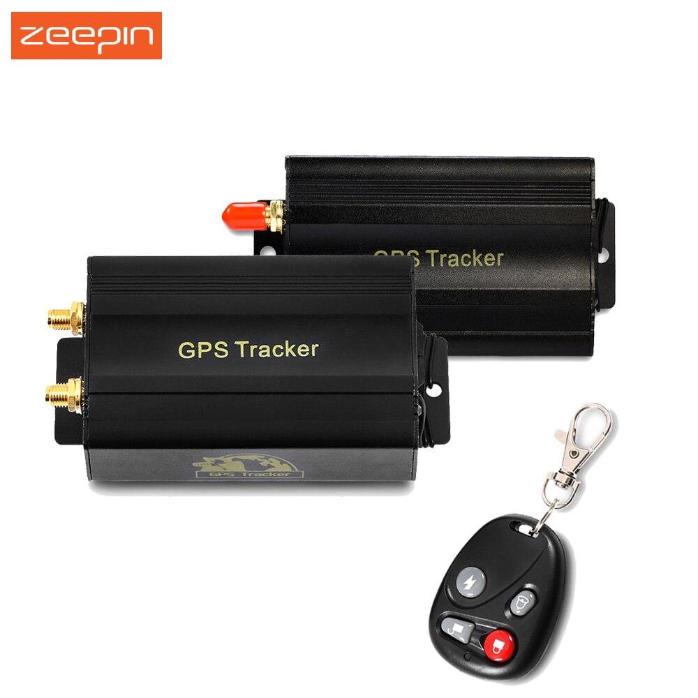 Car GPS Tracker TK103B Vehicle Anti-theft Alarm Mini Real Time Power off Tracking Locator Remote Control Tracker Auto Locator