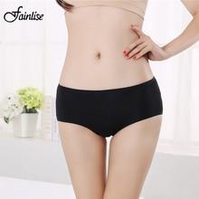 Fainlise Sexy Women's Cotton Panties Women Briefs Female Seamless Underwear Comfortable Woman Intimates Lingerie