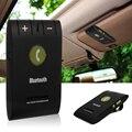 Universal inalámbrico bluetooth 4.0 auto car kit para iphone samung teléfono Manos Libres de Teléfono MP3 Music Speaker Set Sun Visor Clip MA361