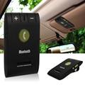 Universal sem fio bluetooth 4.0 auto car kit para iphone samung telefone Mãos Livres de Telefone MP3 Music Speaker Set Sol Viseira Clipe MA361
