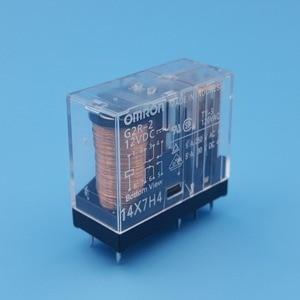 Image 5 - 10Pcs Omron G2R 2 DC12V 24V 8Pin PCB Mount DPDT Power Relay 5A/250VAC