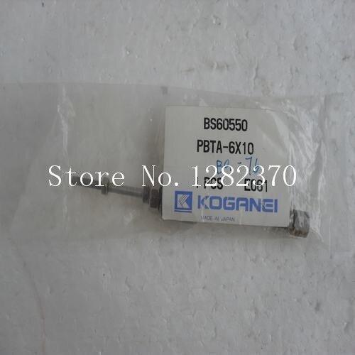 [SA] new Japanese original authentic KOGANEI cylinder PBTA-6 * 10 spot --2pcs/lot[SA] new Japanese original authentic KOGANEI cylinder PBTA-6 * 10 spot --2pcs/lot