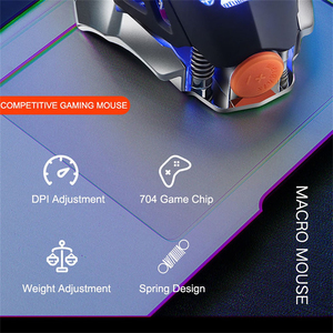 Image 5 - Botão 6 FELYBY Profissional Gaming Mouse Com Fio 2400 DPI LED Óptico USB Mouse de Computador Gamer Mice V9 Jogo Do Rato Para PC