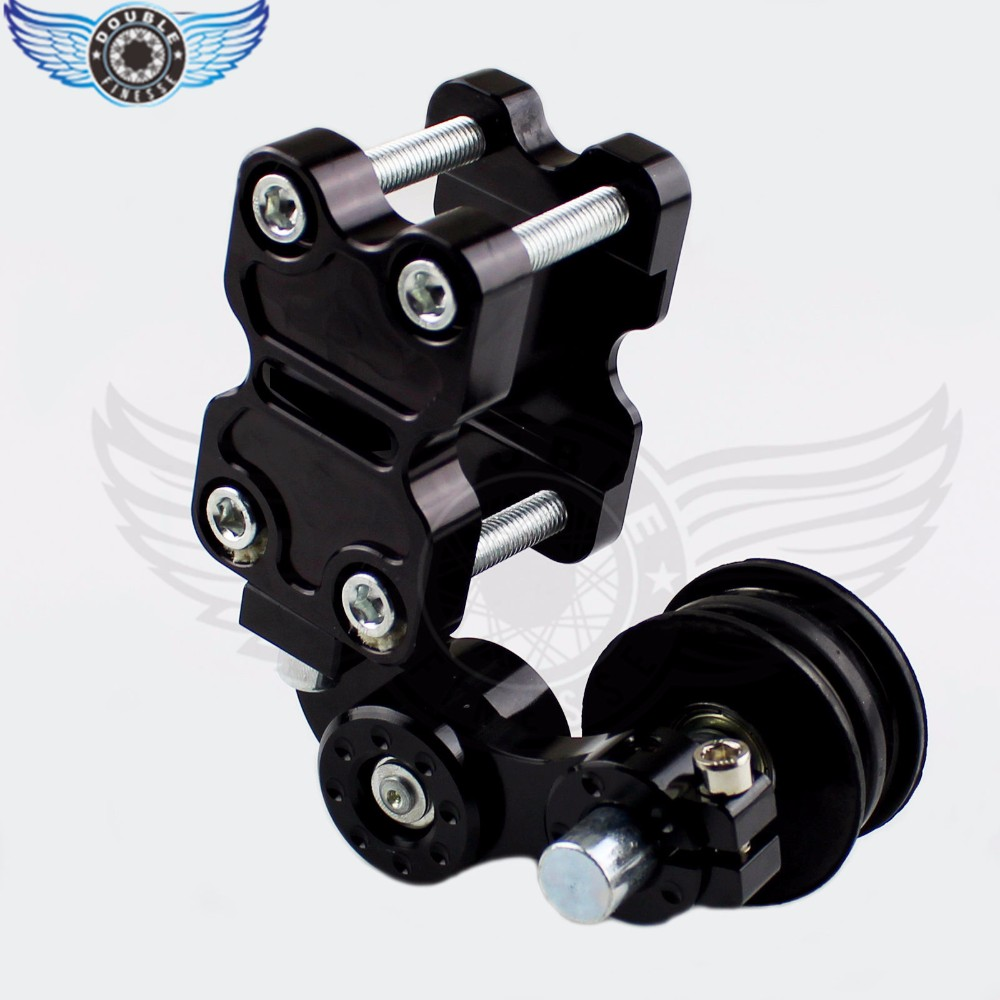 Adjustable Aluminum Chain Tensioner Bolt on Roller Motocross Motorcycle Dirt Street Bike ATVs Banshee Chopper for YAMAHA ducati