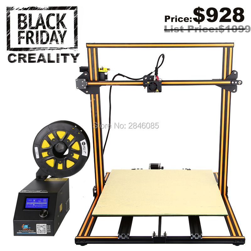 CREALITY 3D Printer CR 10 Pulley Version Linear Guide DIY ...