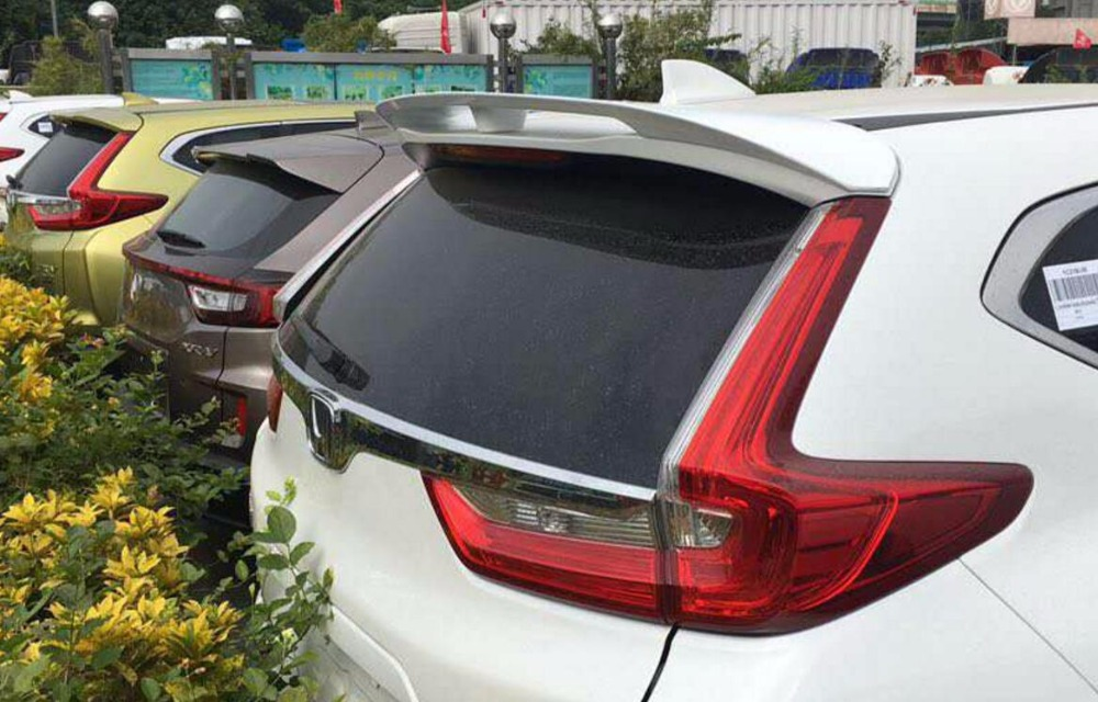 ABS Rear Trunk Roof Spoiler Wing Pad Lip FIT For Honda CRV CR-V 2017