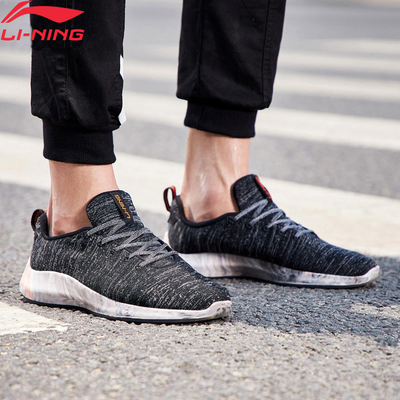Li-Ning Men FLOWFOAM LOW Lifestyle Shoes Mono Yarn Breathable Durable LiNing Li Ning Sport Shoes Leisure Sneakers AGLN141 YXB230