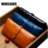 2017Fashion Women Wallets High Quality Genuine Leather Long section wallet zipper hasp Design Clutch Cowhide Wallet Female Purse