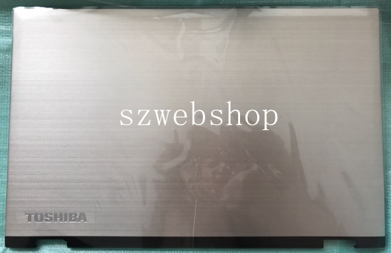 H000082320 New for Toshiba Satellite Radius P55W-C Series 15.6 LCD Back Cover top case silver