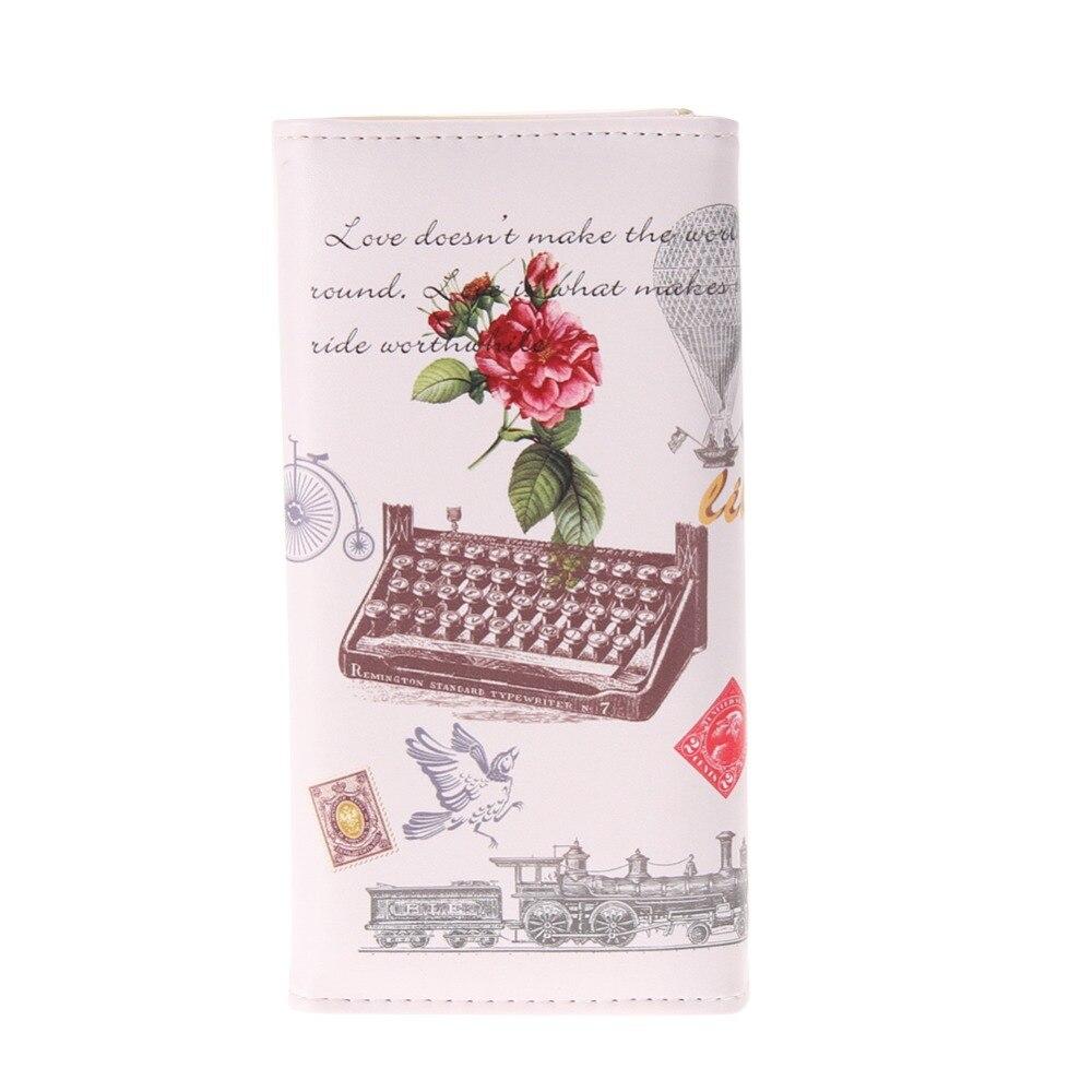 impressão longo bolsa carteiras para Modelo Número : Women Wallets