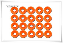 Tarot TL2820 02 M3 0 Body Gasket Orange Tarot 450 RC Helicopter Spare Parts FreeTrack Shipping